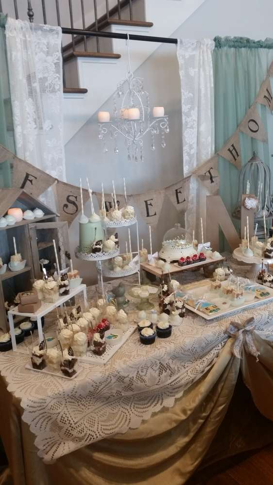 Rustic Housewarming Party Ideas