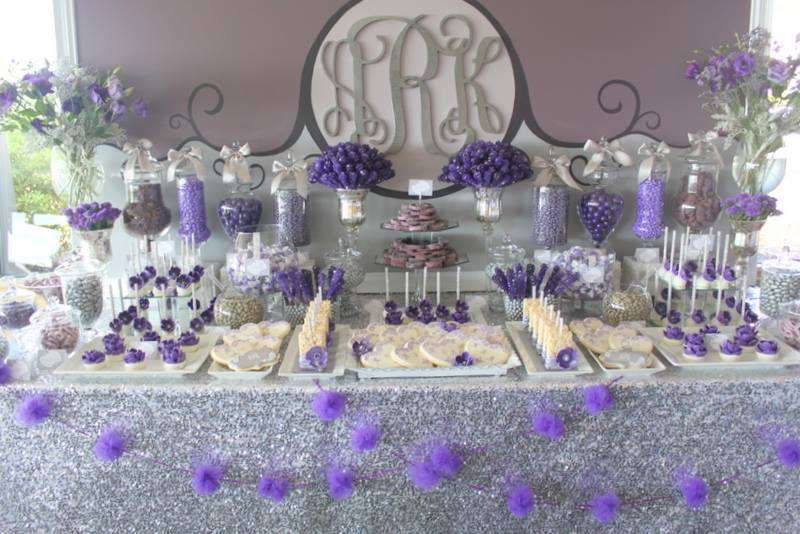 Best Purple & Gray Glam Wedding Party Ideas | Photo 9 of 20 | Catch My  BK26