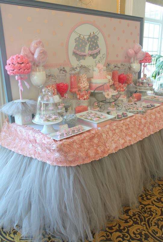 Tutu Cute Baby Shower Party Ideas Photo 1 Of 17 Catch My Party