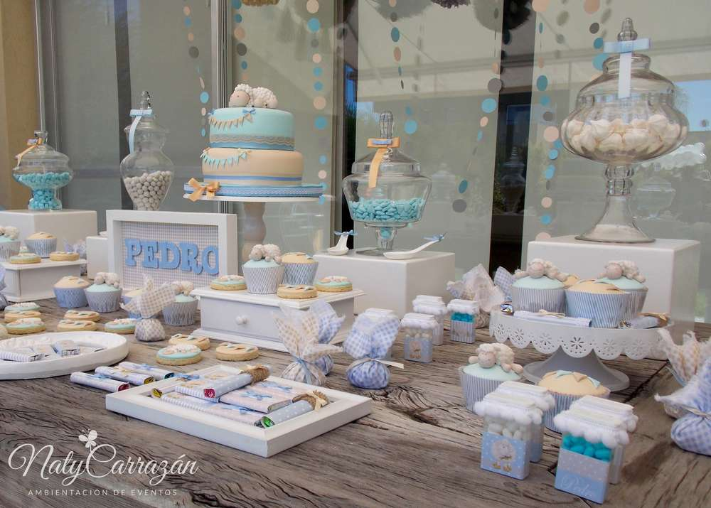 little lamb baby shower baby shower party ideas photo 28 of 29