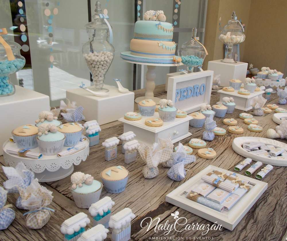 Little Lamb Baby Shower Baby Shower Party Ideas Photo 6