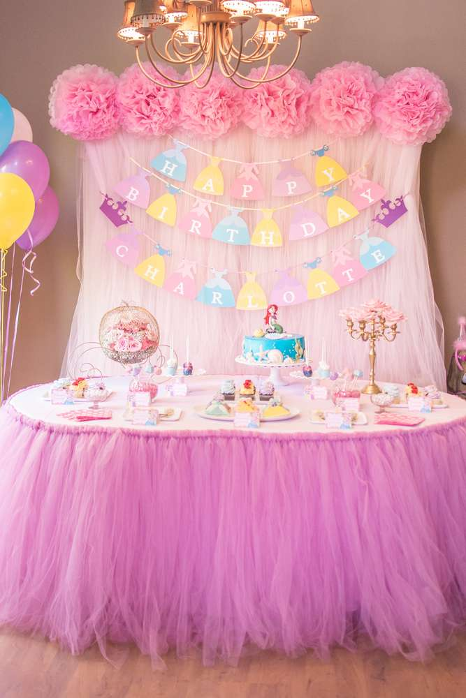 How to Throw a Magical Princess Birthday Party | Party ... |Princess Birthday