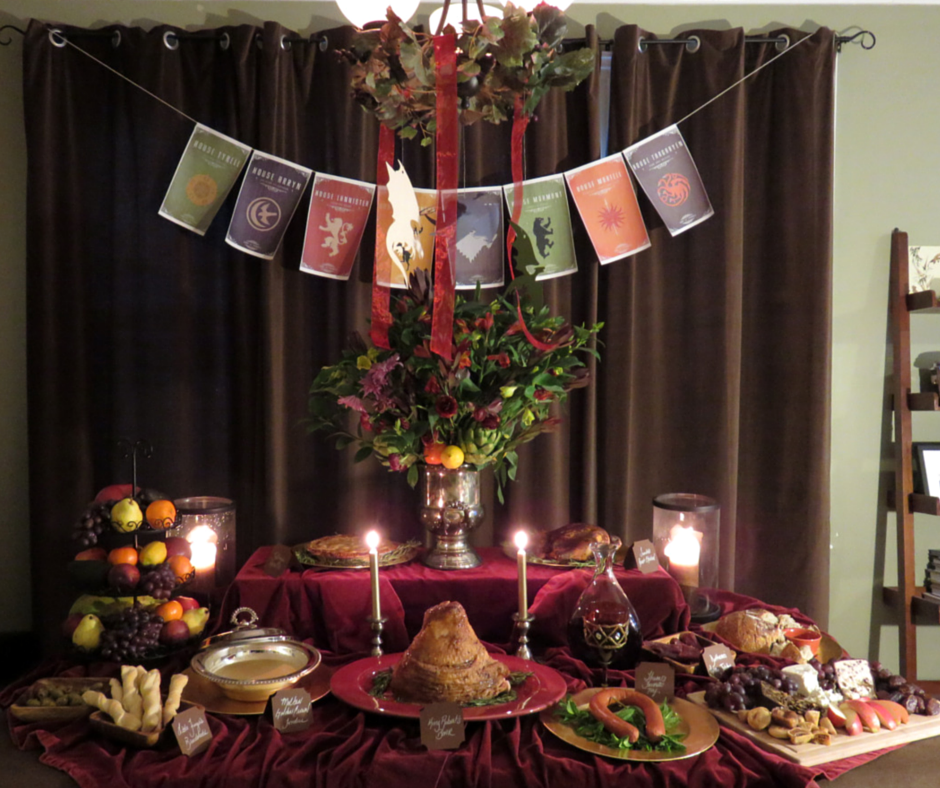 Game Of Thrones Dinner Party Party Ideas Photo 1 Of 11 Catch My