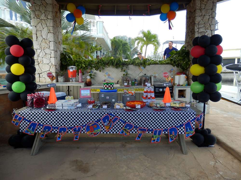 Hot Wheels Birthday Party Ideas Photo 1 Of 28 Catch My
