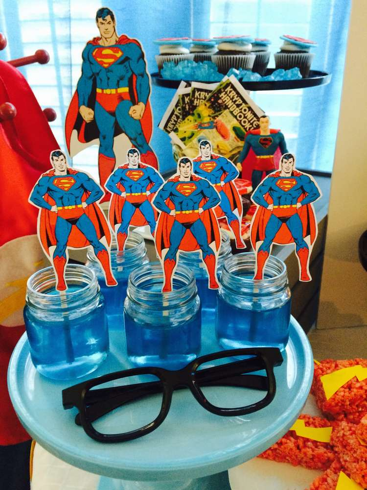 Justice league superhero birthday party ideas photo of