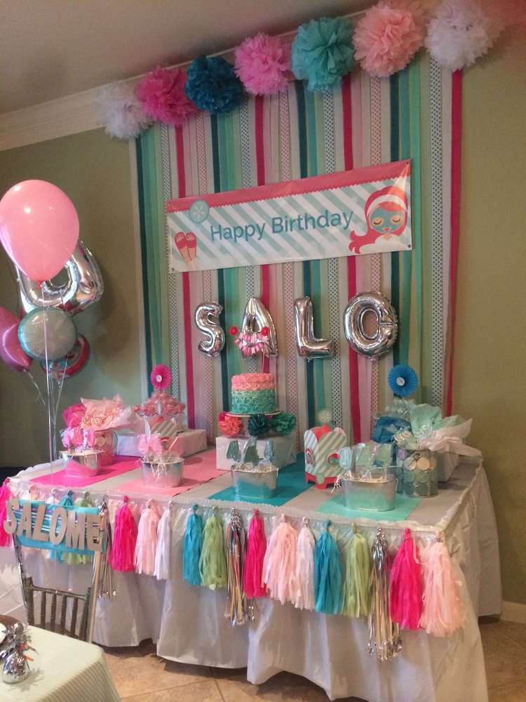 8 First Home Decorating Ideas You Ll Want To Steal: Little Spa Birthday Party Ideas