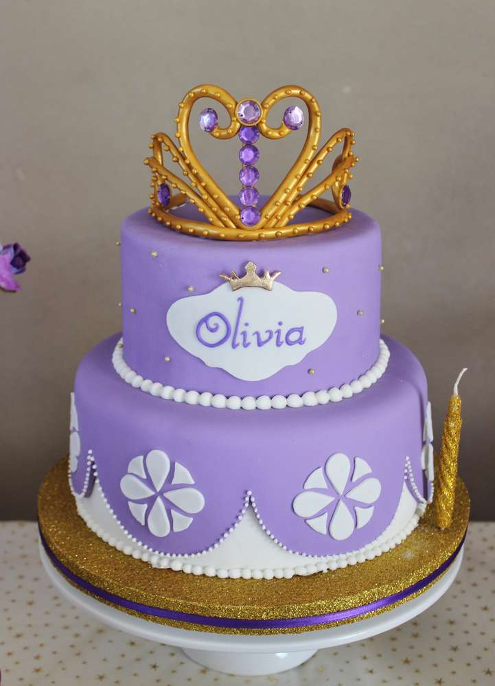 Sofia The First Birthday Party Ideas Photo 2 Of 15 Catch My Party