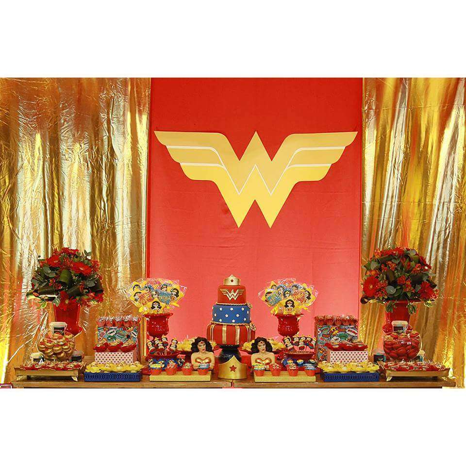 Wonder Woman Birthday Party Ideas Photo 2 Of 10 Catch