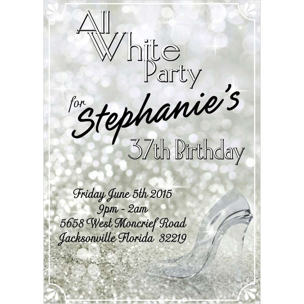 All White Party Birthday Party Ideas Photo 1 Of 9 Catch My Party