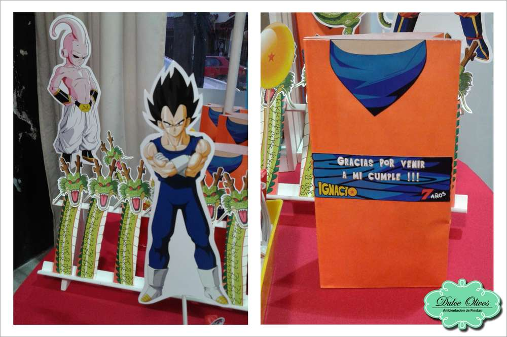 Dragon Ball Z Birthday Party Ideas