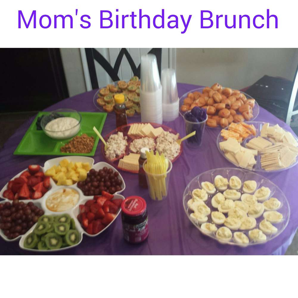 Moms 60th Birthday Brunch
