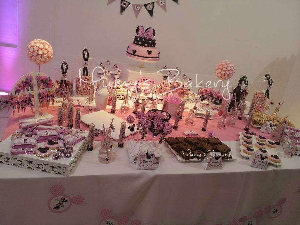 Minnie Mouse Candy Bar Party Ideas Photo 1 Of 8 Catch