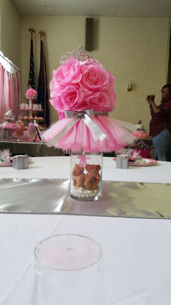 Tutus And Tiaras Baby Shower Party Ideas Photo 10 Of 67