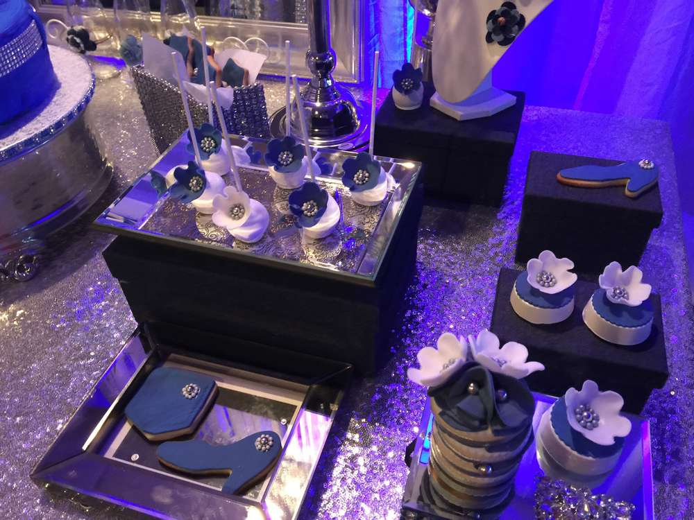 Diamonds And Denim Birthday Party Ideas Photo 3 Of 18