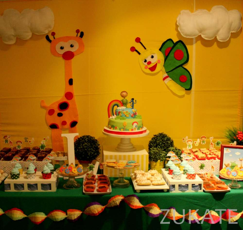 Lautaro S Baby Tv Party Birthday Party Ideas Photo 1 Of 14 Catch