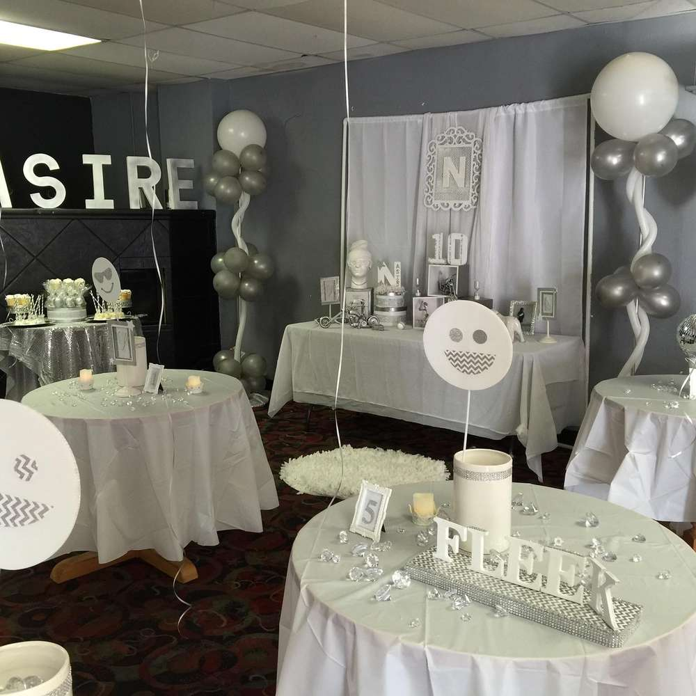 All White Party Birthday Party Ideas Photo 2 Of 3 Catch My Party