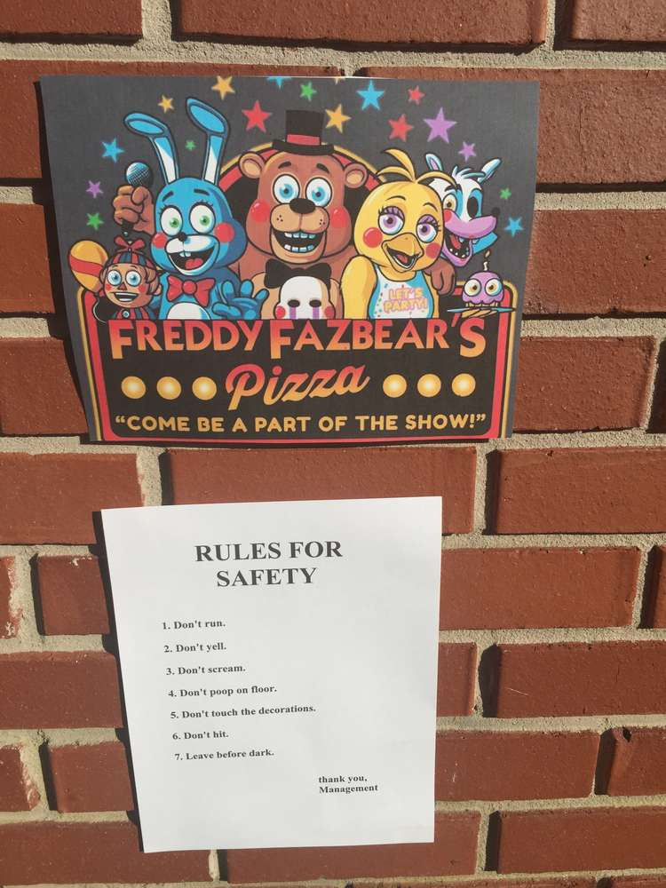 Jadens Five Nights At Freddys Birthday