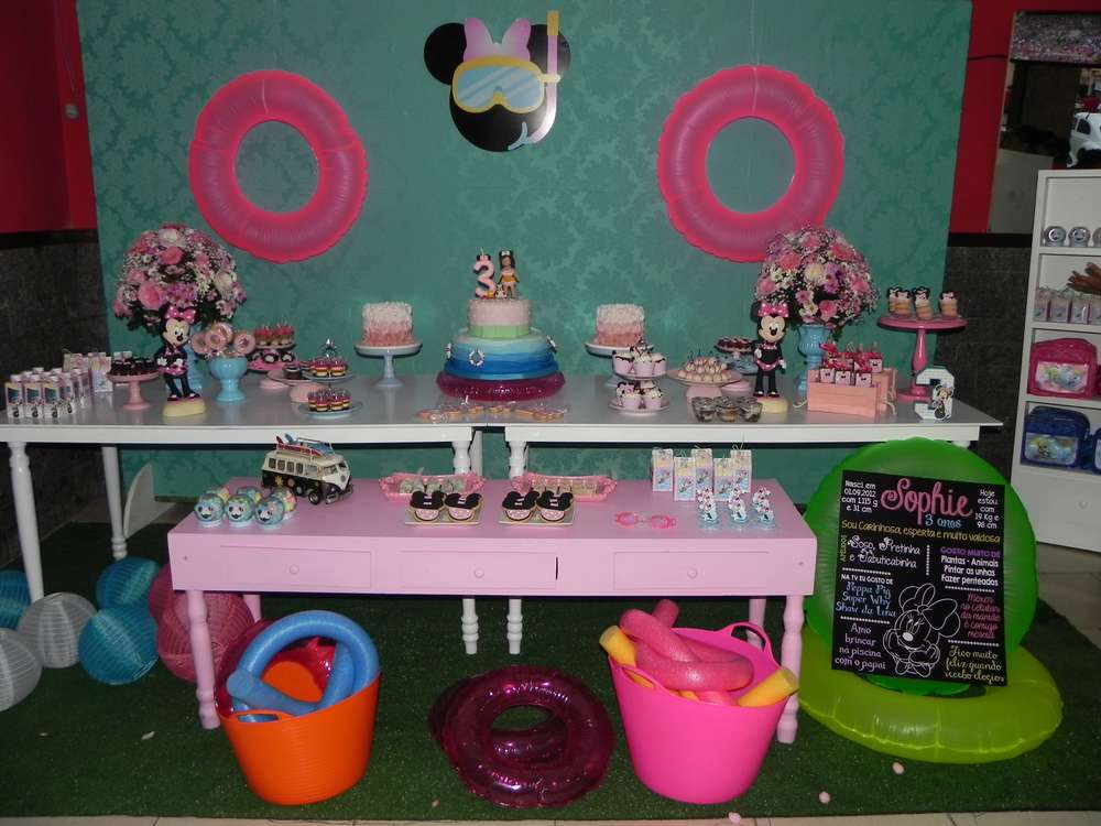 Mickey Mouse Minnie Mouse Birthday Party Ideas Photo 1 Of 14