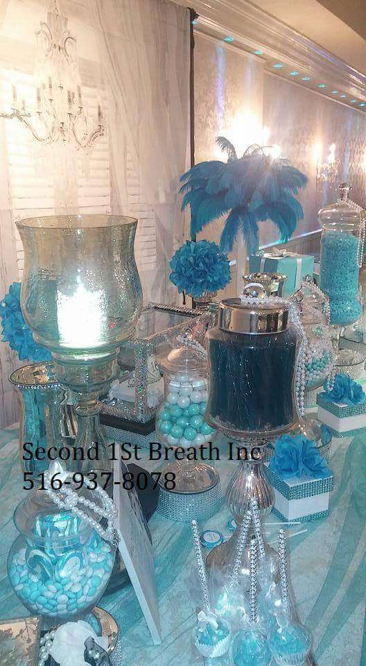 Tiffany Co Sweet 16 Party Ideas Photo 4 Of 8 Catch My Party