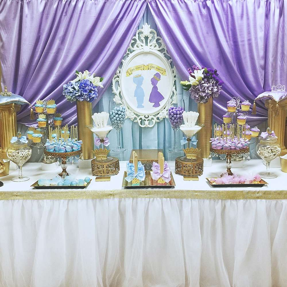 royal prince and princess baby shower baby shower party ideas photo