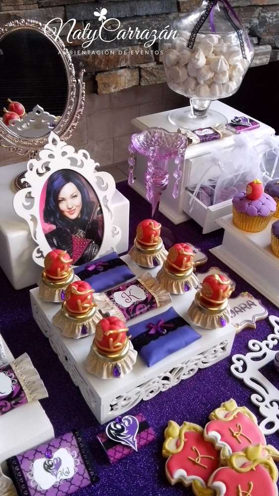 Descendants Maleficent S Daugther Birthday Party Ideas