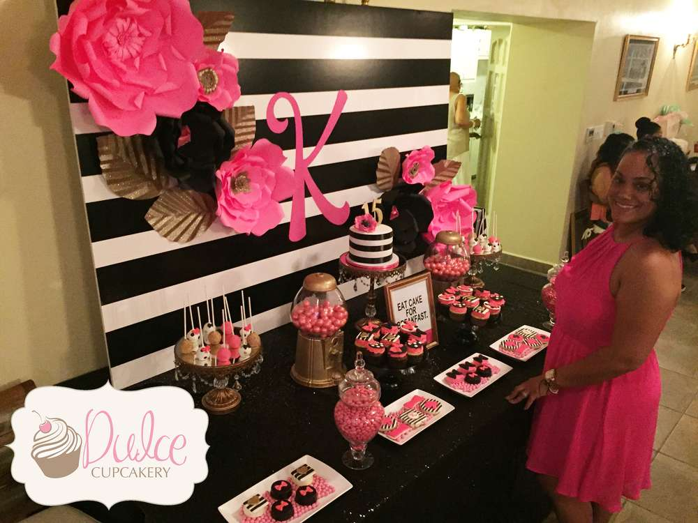 Kate Spade Inspired Birthday Party Ideas Photo 6 Of 16