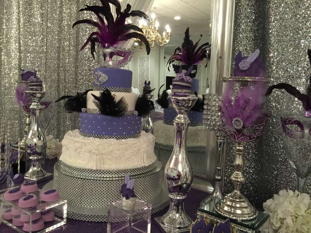 Masquerade Quinceanera Party Ideas Photo 5 Of 21 Catch My Party