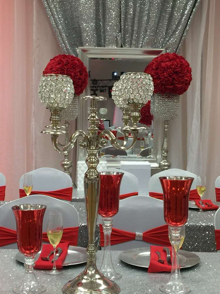 Diamonds Amp Roses Quincea 241 Era Party Ideas Photo 7 Of 17
