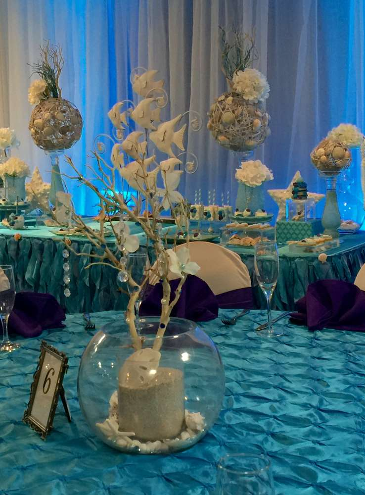 Winter And Under The Sea Quincea 241 Era Party Ideas Photo 1