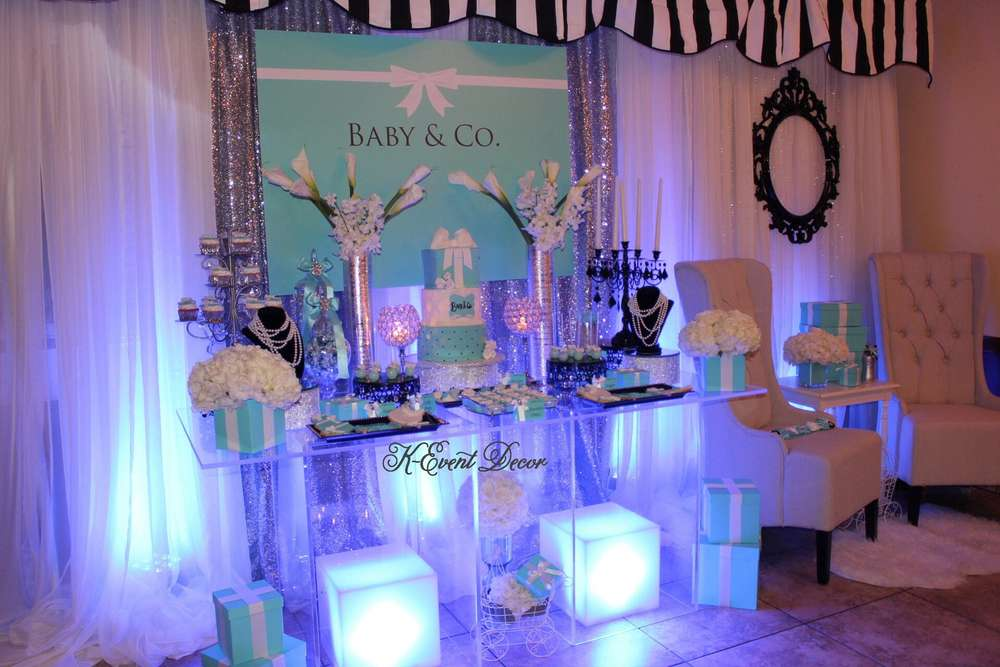 Tiffany 39 S Baby Shower Party Ideas Photo 8 Of 17 Catch