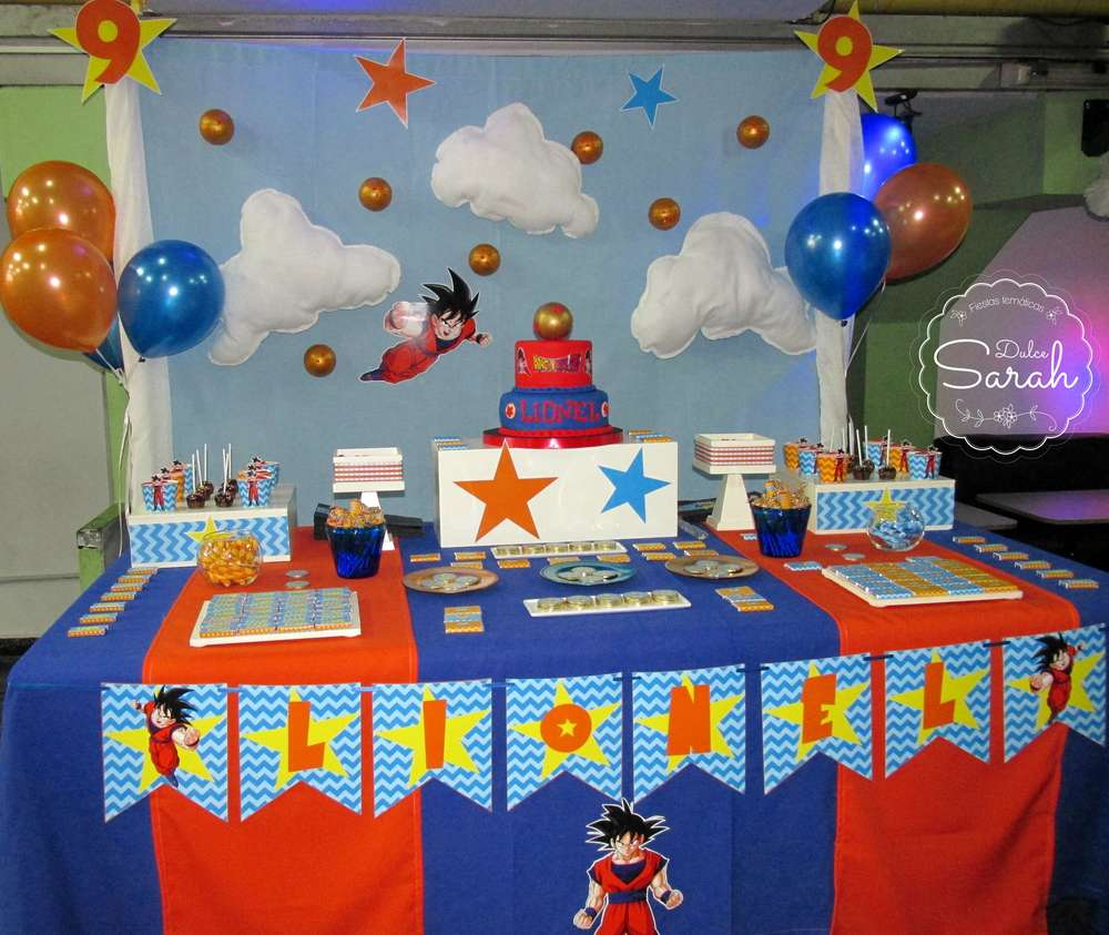 Dragon Ball Z Cake Decorating Kit : Dragon Ball Birthday Party Ideas Photo 1 of 13 Catch ...