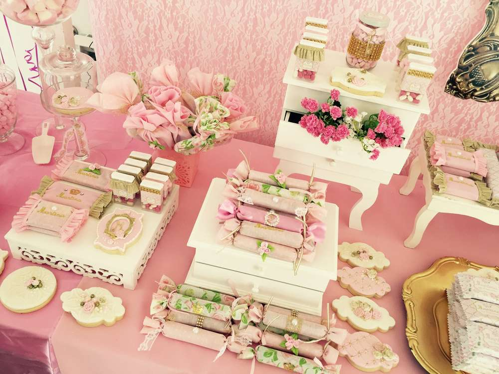 Shabby chic vintage birthday party ideas photo 2 of 23 - Decoracion shabby chic vintage ...
