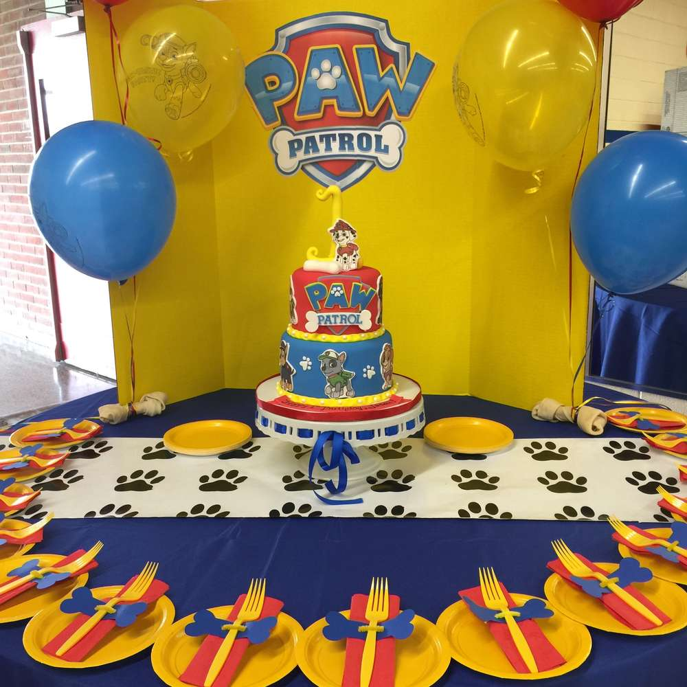 Jasaiis Paw Patrol Party Learn More About This Previous