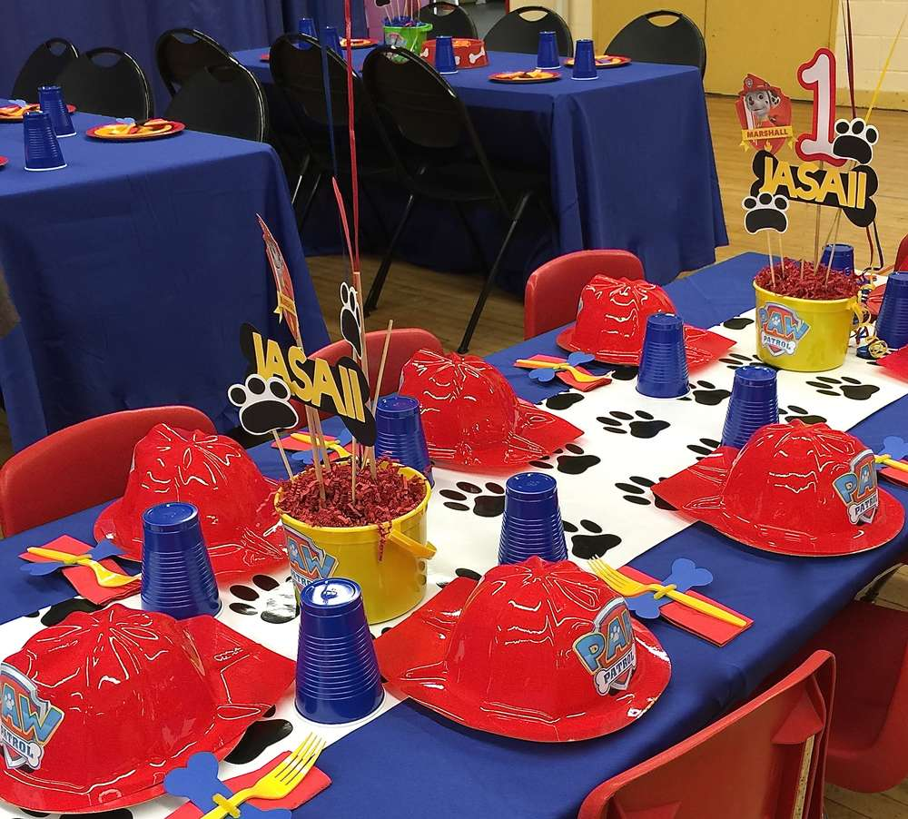 Jasaiis Paw Patrol Party