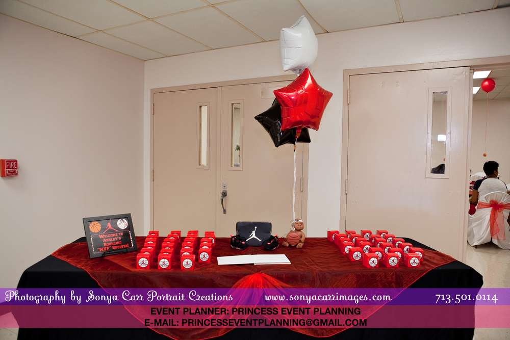 michael jordan baby shower party ideas photo 6 of 34 catch my