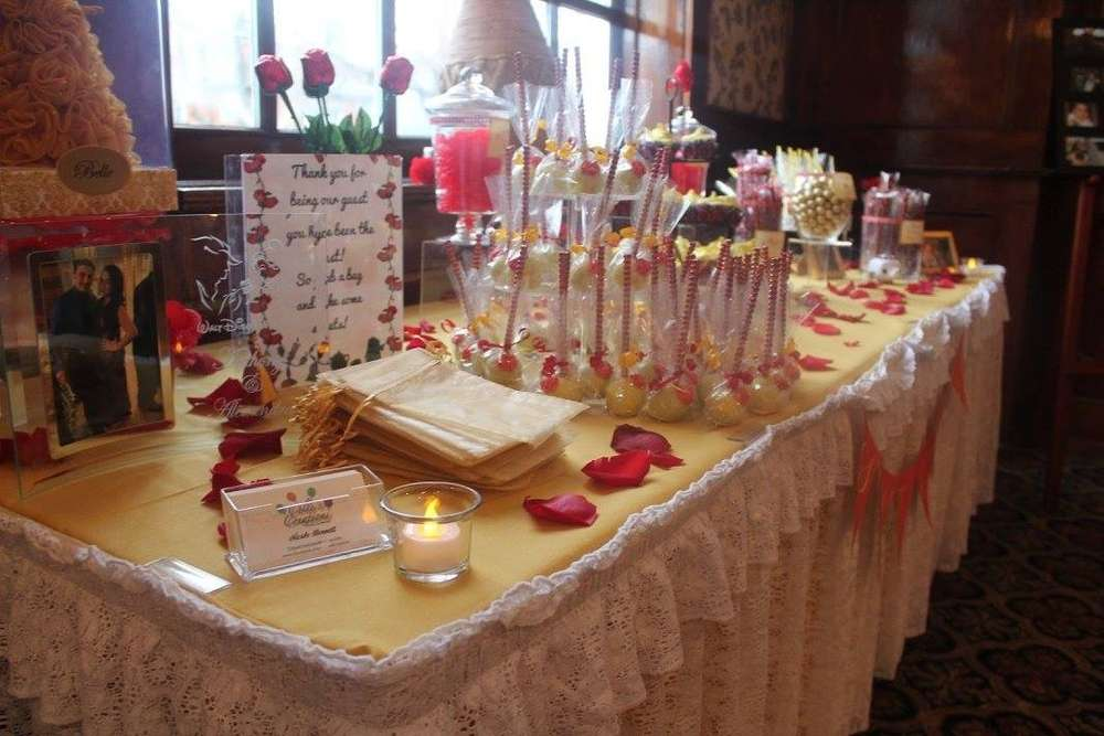 Belle Beauty And The Beast Bridal Wedding Shower Party