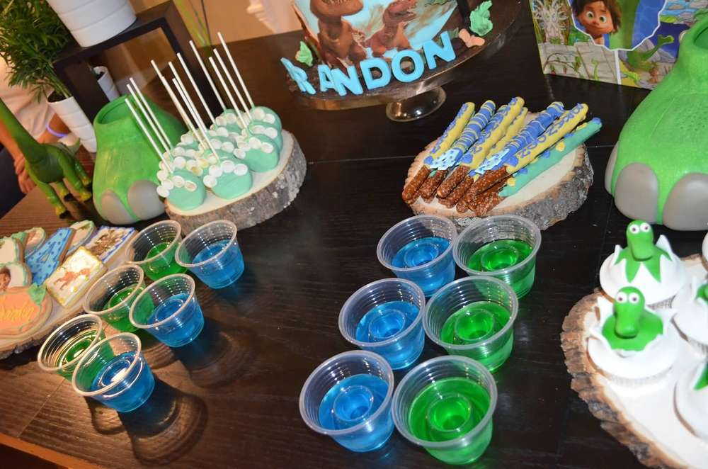 The Good Dinosaur Birthday Party Ideas Photo 14 Of 15