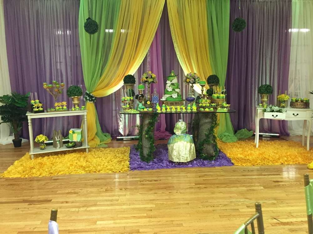 Princess And The Frog Birthday Party Ideas Photo 1 Of 27