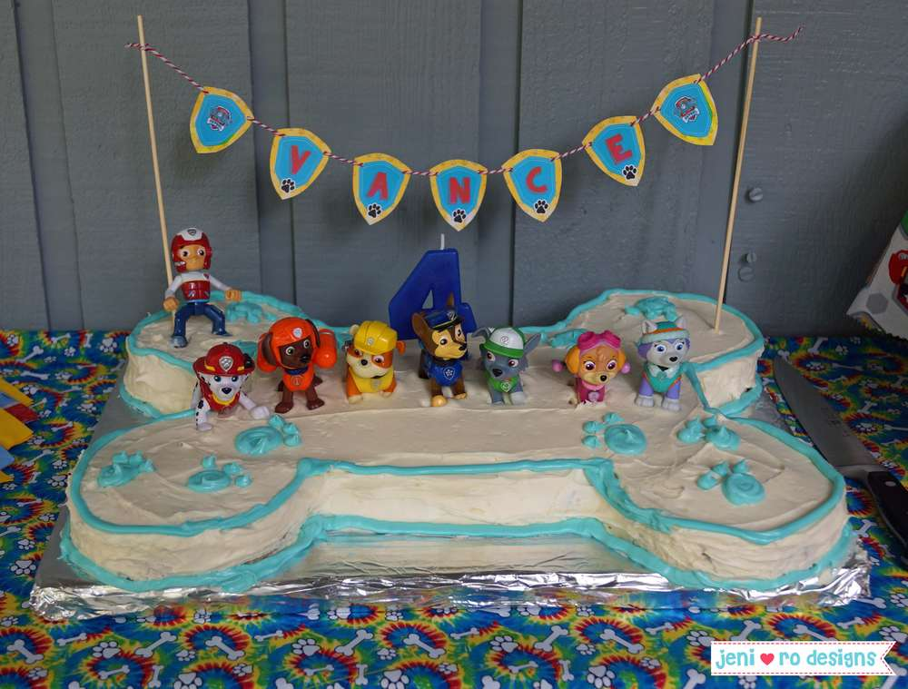 Paw Patrol Birthday Party Ideas Photo 5 Of 23 Catch My