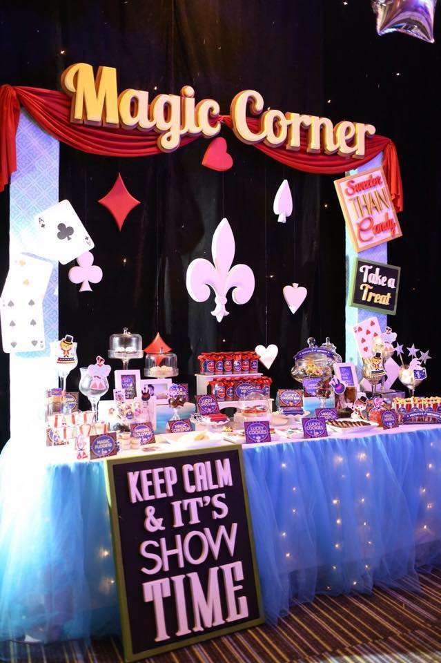 Magic Birthday Party Ideas Photo 4 Of 8 Catch My Party