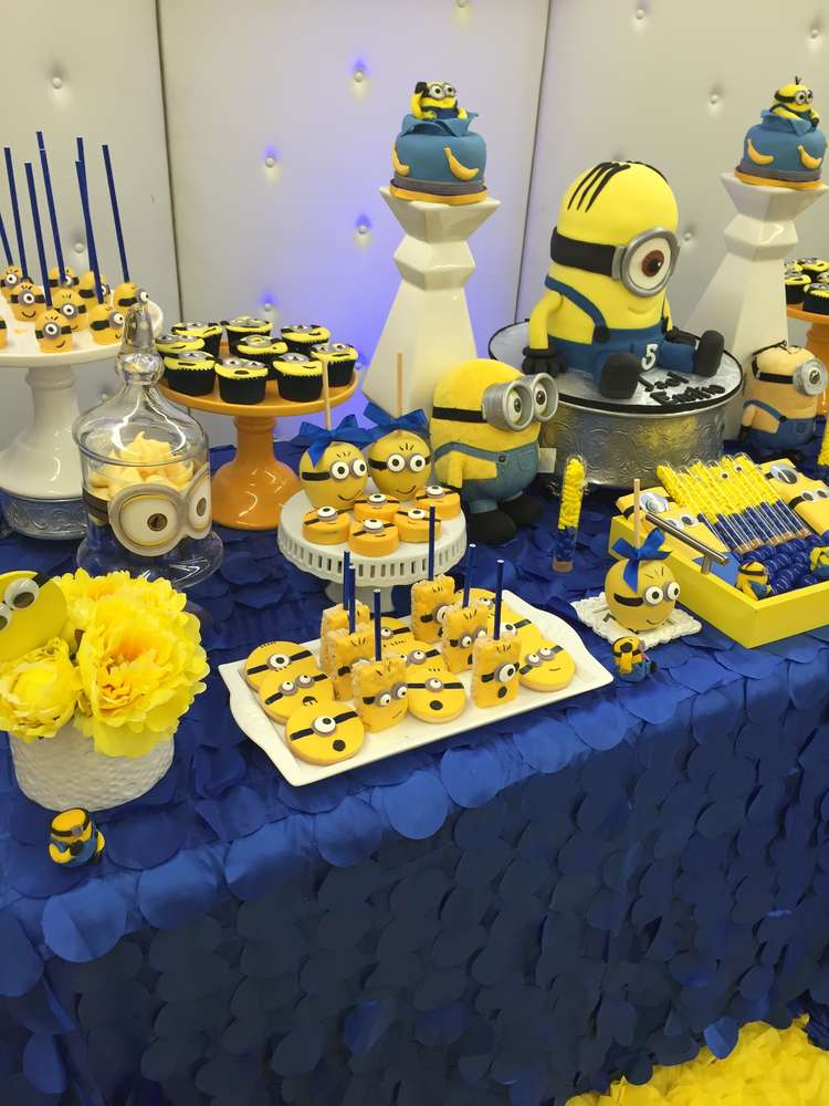 Minions Birthday Party Ideas | Photo 4 of 27 | Catch My Party