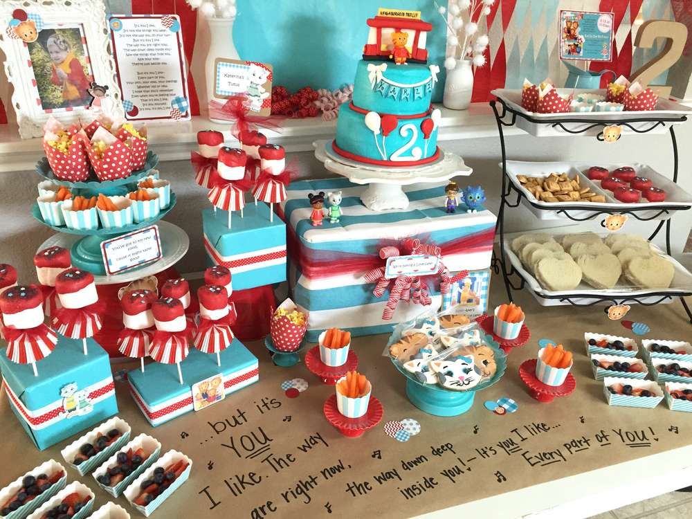 Daniel Tiger S Neighborhood Birthday Party Ideas Photo 9
