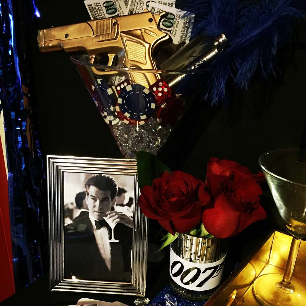 James bond 007 birthday party ideas photo 1 of 30 for 007 decoration ideas