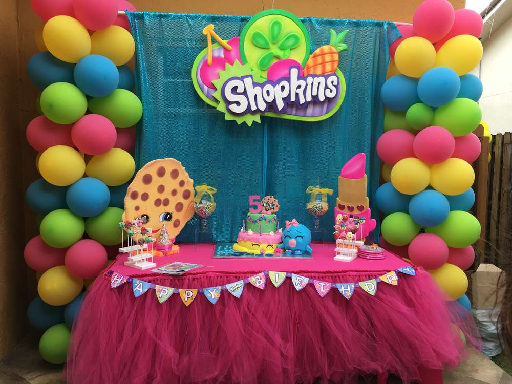 Shopkins Birthday Party Ideas Photo 1 Of 17 Catch My Party