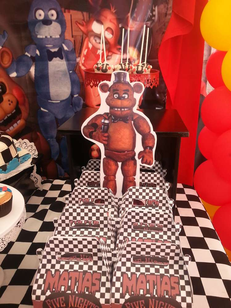 Five Nights At Freddys Learn More About This Party
