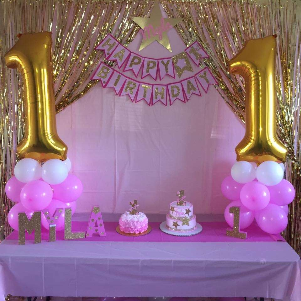 Stars birthday party ideas photo 1 of 6 catch my party for 7 star balloon decoration