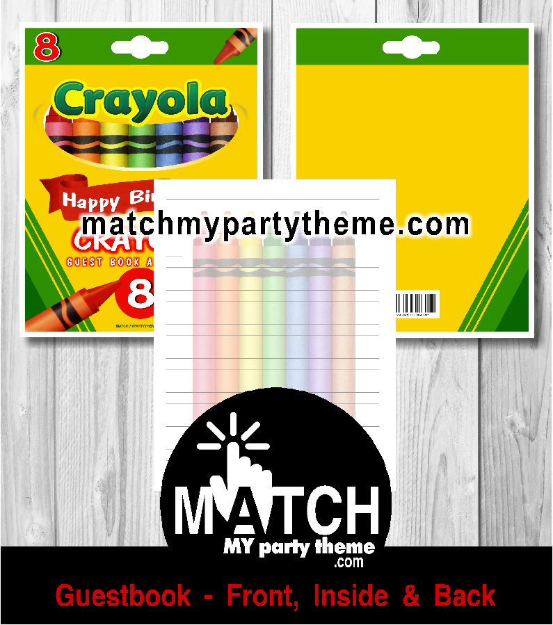 Crayola Crayons Birthday Party Ideas | Photo 4 of 5 | Catch My Party
