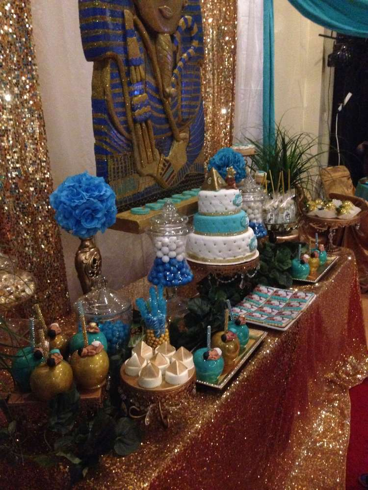 Egyptian Baby Shower Party Ideas Photo 1 Of 22 Catch