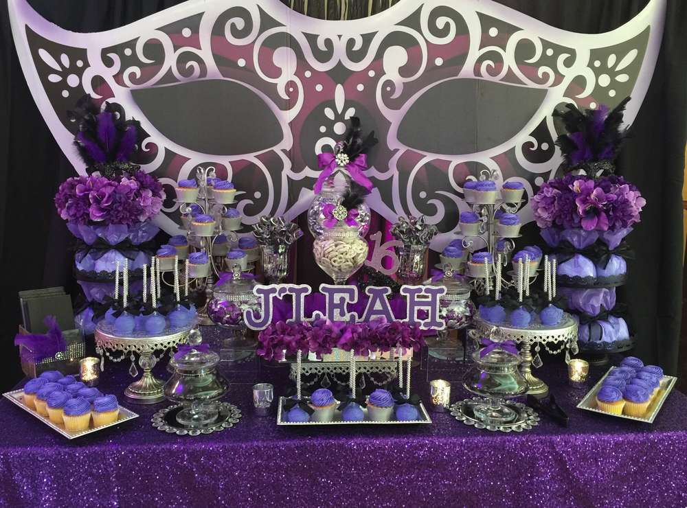 Masquerade Birthday Party Ideas Photo 8 Of 8 Catch My Party
