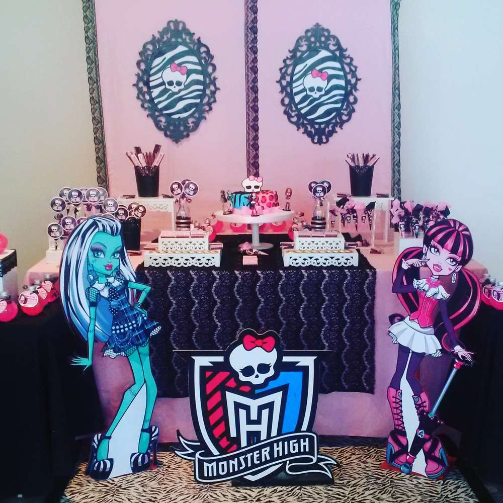 Monster High Invitation Wording is nice invitation template